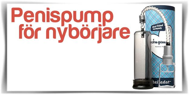 Penispump för nybörjare