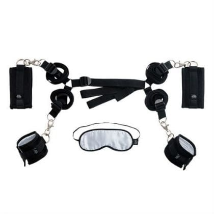 Hard limits bed restraints kit