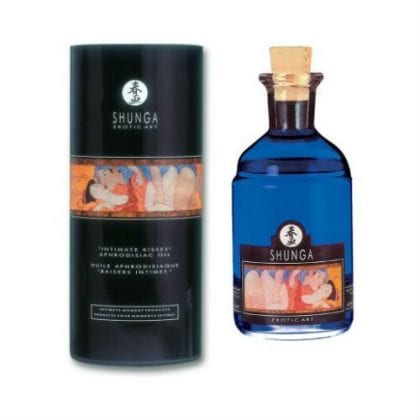 Shunga - Aphrodisiac Oil Grapes 100 ml forpackning