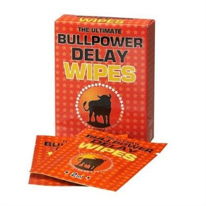 bull power delay wipes