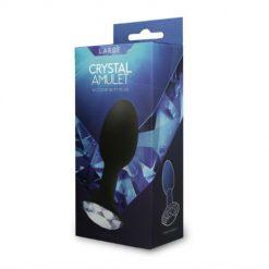 Buttplug med Kristall - Stor forpackning