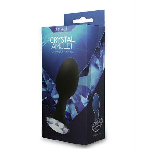Crystal Amulet Silicone Butt Plug