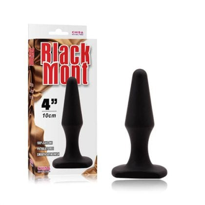 Black Mont M Silicone Plug Förpackning