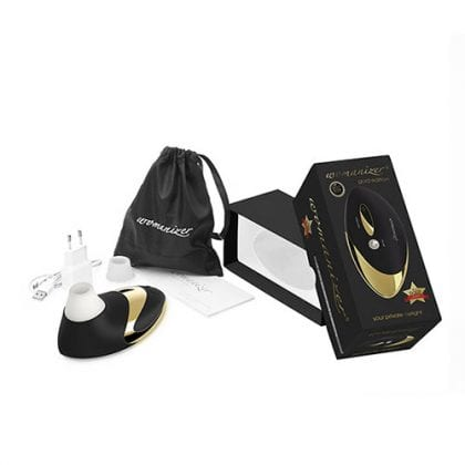 Womanizer W500 Pro Gold forpackning