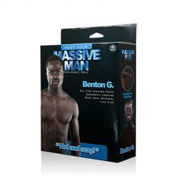 Massiv Man Benton G Love Doll förpackning