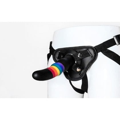 Colourful Love Strap-on harness