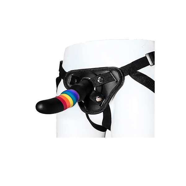 Colourful Strap-on modell