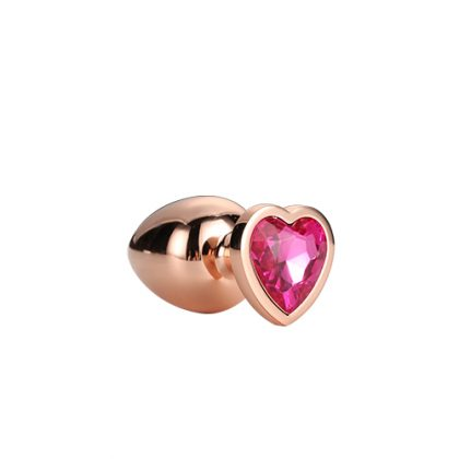 Gleaming Love Rose Plug Small