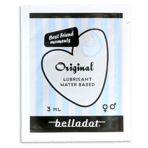 Belladot glidmedel pocket 3ml framsida