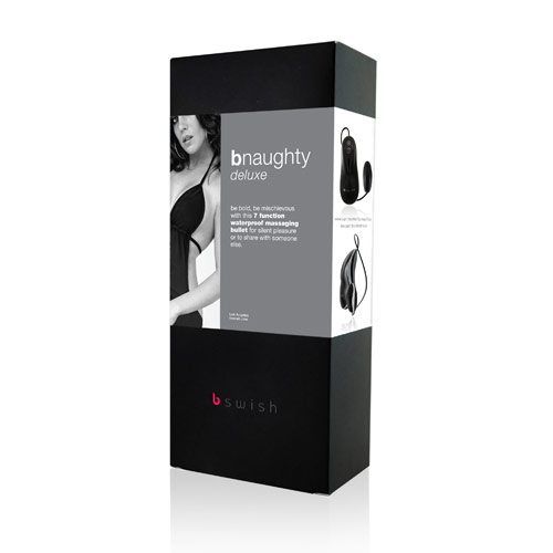 BNaughty Deluxe - Svart och Silver box