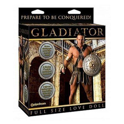 Gladiator uppblåsbar sexdocka
