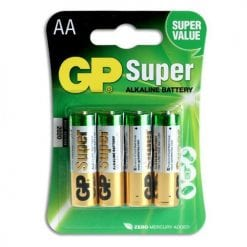 GP Batterier 4-pack LR-06 (AA)