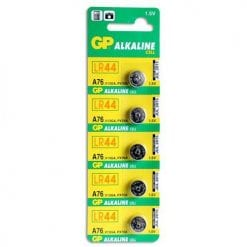 GP Knappcellsbatterier 5-pack LR-44