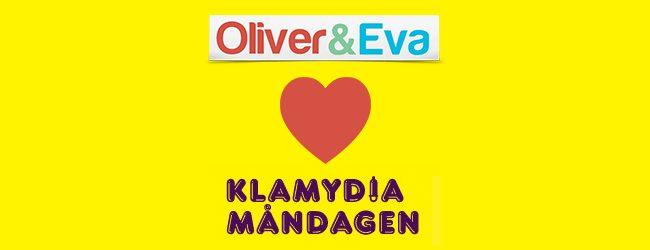 Oliver & Eva gillar klamydiamåndagen