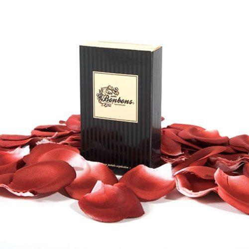 Parfymerade rosenblad