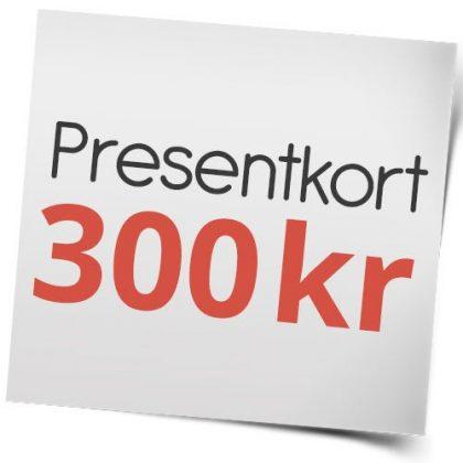 Presentkort på sexleksaker 300 kr
