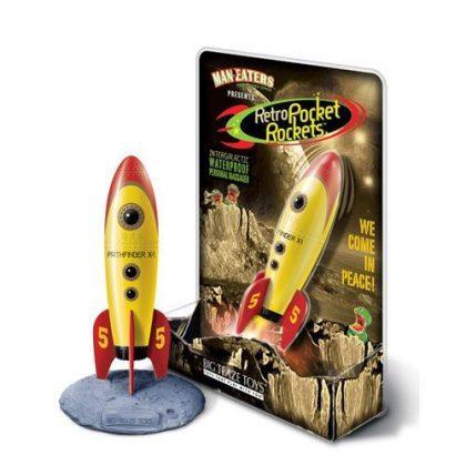 Retro Rocket Pocket i förpackning