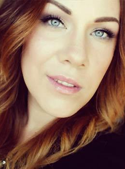 Sveriges sexigaste make up bloggare Charlotte Persson