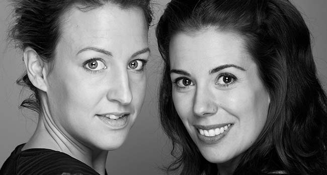 Sveriges sexigaste mammabloggare Sofia Falk och Therese Krupa