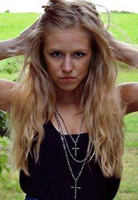 Sveriges sexigaste musikbloggare Sandra