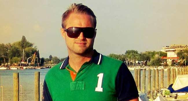 Sveriges sexigaste pappabloggare Dennis Kjellin