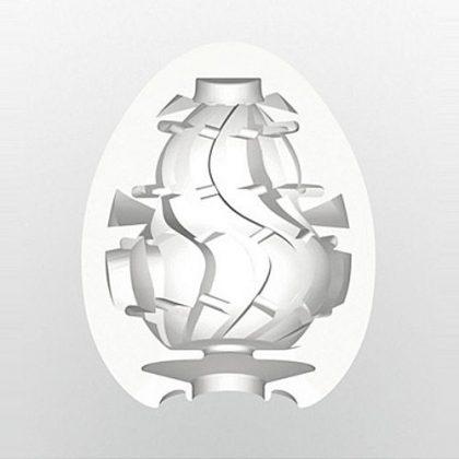Tenga Egg Twister genomskärning